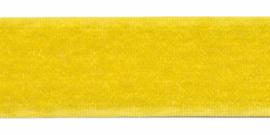 Geel klitteband 25mm