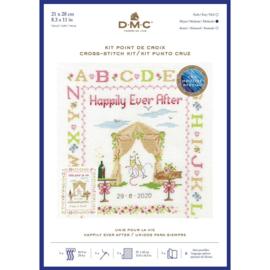 Happily ever after  Aida Borduurpakket DMC