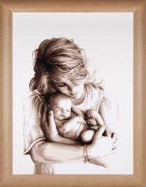 Moeder en Kind  Aida Vervaco Telpakket