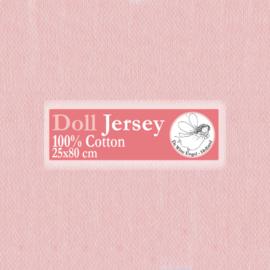 "Pink Doll Jersey 25x80cm / 9.8""x31.5"""