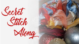 Secret Stitch Along Vervaco 2021/2
