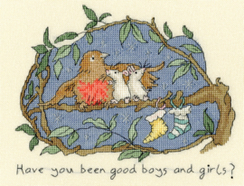 Have you been good? Aida Borduurpakket Bothy Threads