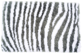 Zebra Print Latch Hook Rug Vervaco