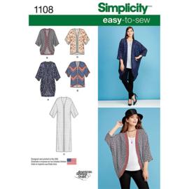 1108 A Simplicity maat XXS - XXL