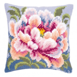 Camellia Canvas Cushion Vervaco
