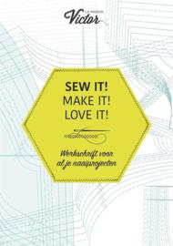 Werkschrift voor al je naaiprojecten La Maison Victor