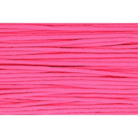 796 Neon roze soepel koord 5mm