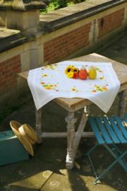 Sunflowers Aida Tablecloth Vervaco