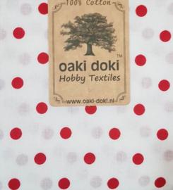 Polka Dott White Oaki Doki