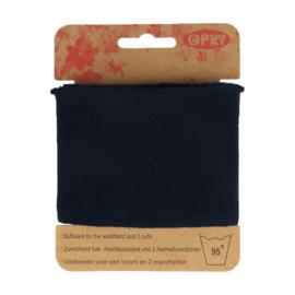 Donker blauwe Uni Boordstof Opry