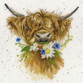 Daisy Coo Aida Wrendale Designs by Hannah Dale Bothy Threads XHD42