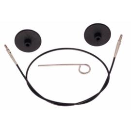 80cm Zwarte kabel KnitPro