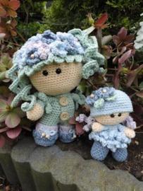 Funny Hortensia Set Crochet Kit