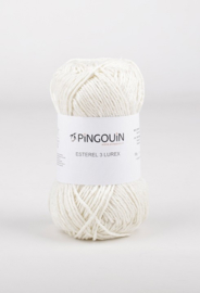 Ecru 1359 Esterel 3 Lurex Pingouin
