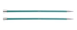 8.0mm Zing 40cm Breinaalden met Knop KnitPro