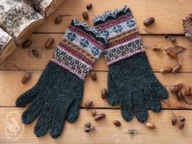 Fair Isle Handschoenen Breien Durable Forest