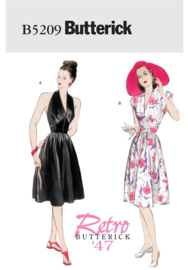 B5209 Retro Butterick '47