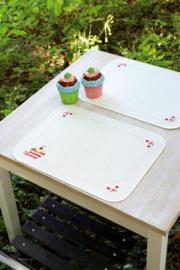 Cupcake Placemats Borduurpakket Vervaco