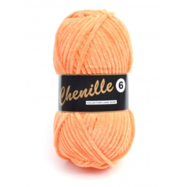 Lammy Yarns Chenille 6 041 Tangerine