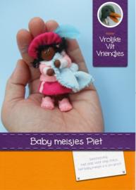 Baby Meisjes Piet Pakket Vrolijke Vilt Vriendjes
