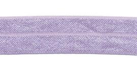 Lila 20mm Elastisch Biaisband