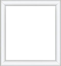 14x14 cm Witte Houten Lijst