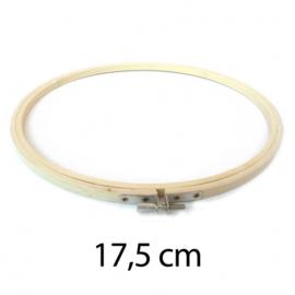 17,5cm houten borduurring
