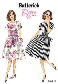 B56318 E5  Retro Butterick '61