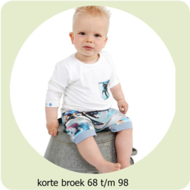 Korte broek maat 68 t/m 98 Annie do it yourself naaipatroon