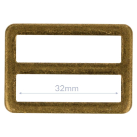 32mm Gesp metaal Bronze
