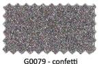 Glitter flexfolie Confetti G0079