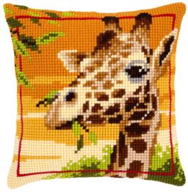Giraf Kruissteekkussen Vervaco
