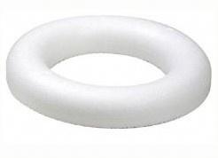 "35cm/13.8"" Polystyrene Half Round Wreath/Ring"