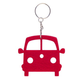 Red Velt VW T1 Front Key Ring