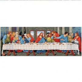 The Last Supper Leonardo da Vinci Pre-Printed Deco-Line