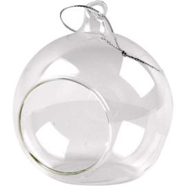 Glas Ornament Met Opening