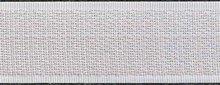 25mm Wit Opnaaibaar Klittenband op Rol per meter