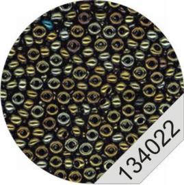 4022 Black-Iris Rocailles Beads Le Suh
