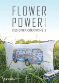 Flower Power Zweigart Borduur Ideeën