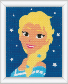 Elsa Disney Frozen Vervaco Canvas Kit