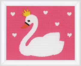 Swan Canvas Vervaco