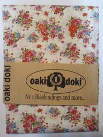 Classic Flowers Oaki Doki Fabrics