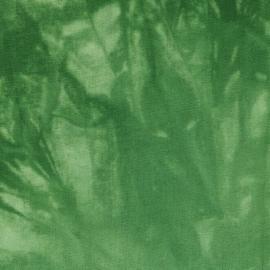 Groen  Batik Tissu de marie stof 150cm breed