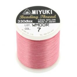 7 roze Beading Draad B Miyuki