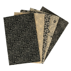 Mysterious Midnight Fat Quarter Bundle Tissu de marie