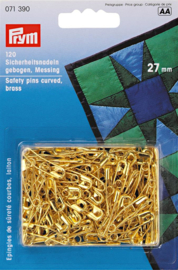 27mm Gebogen Messing Veiligheidsspelden