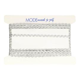 Zilver  Zigzagbandje 4mm - MMJZ