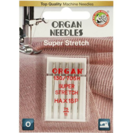 Super Stretch Organ needles