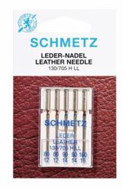 80/12,90/14,100/16 Leer Naald Schmetz