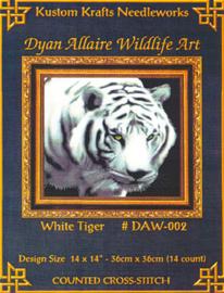 White Tiger Borduurpatroon Kustom Krafts